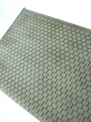 Plate-type slates roof (HO)