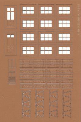 Door and window frames (HO)