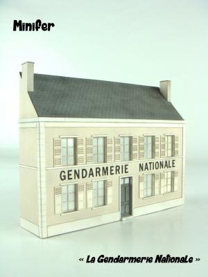 La Gendarmerie Nationale (HO)
