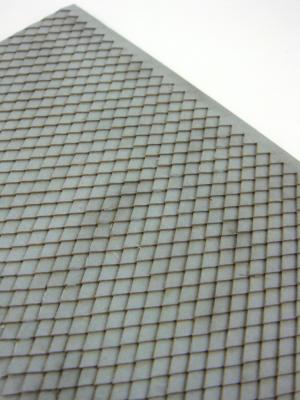Diamond-shaped shingles type grey roof (HO)