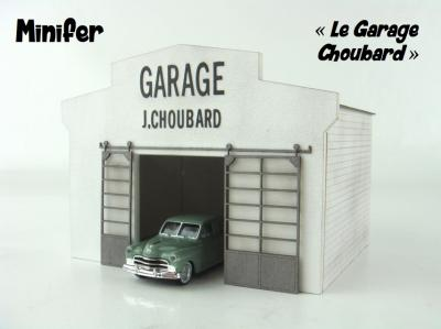 Choubard's car workshop (HO)