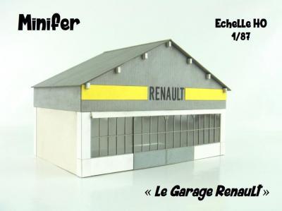 The Renault Garage (HO)