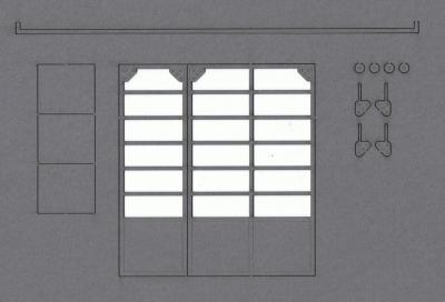 The doors of Garage Choubard (O)