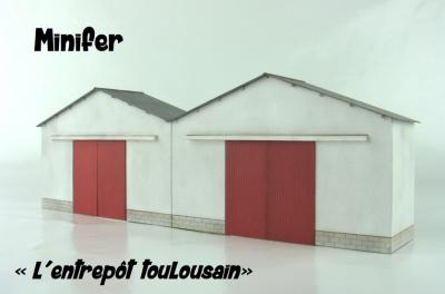 Toulousain's wharehouse (HO)