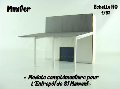 Zusatzmodul für die Lager St Maixent (HO)