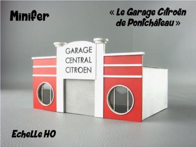 Citroën Garage in Pontchâteau (HO)