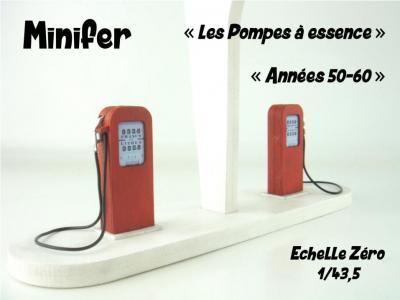 Petrol pumps - 1950s-1960s (O)